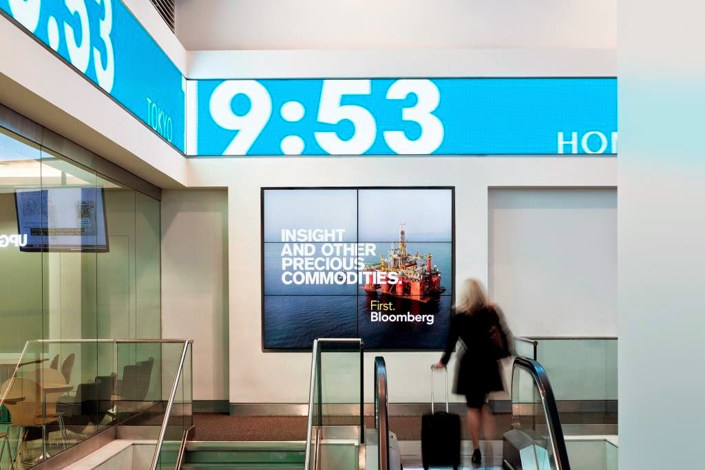 london city airport bloomberg hub