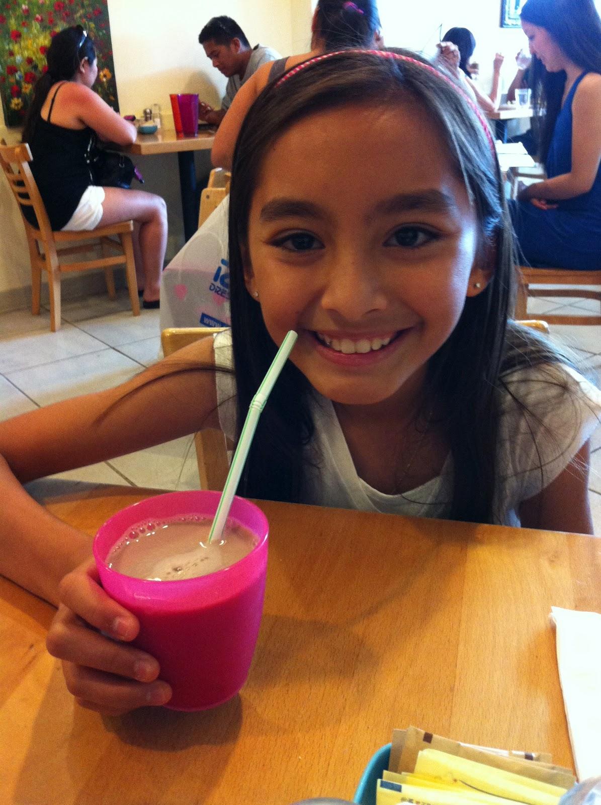 Tropical Cutie - Deli CHOCOLATE MILK WAS VERY SMALL
