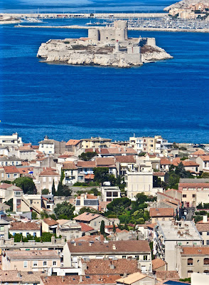 View of Chateau d'If in Marseille