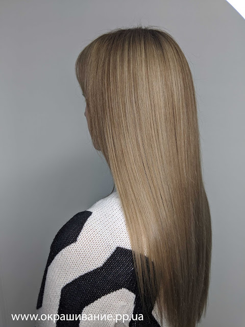 Колорирование волос цена в Харькове