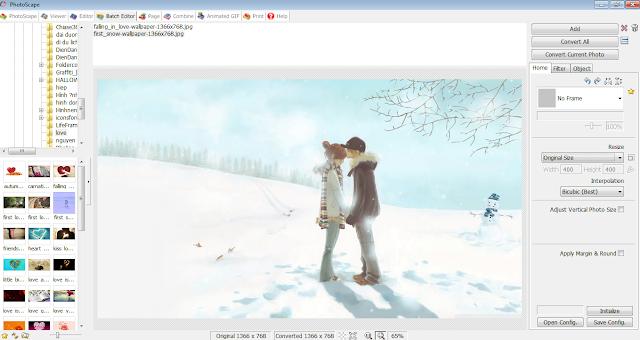 Chỉnh sửa ảnh đơn giản với phần mềm Photoscape