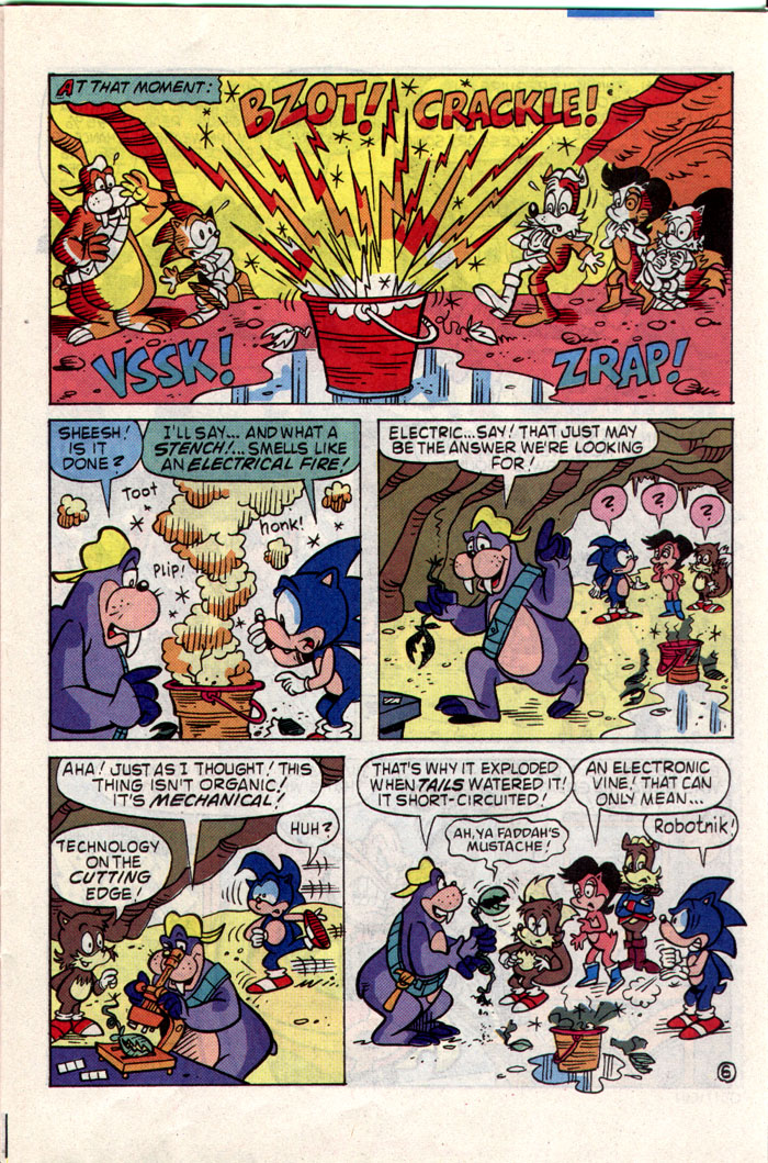 Read online Sonic The Hedgehog comic -  Issue #1 - 12