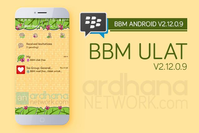 BBM Ulat V2.12.0.9 - BBM Android V2.12.0.9