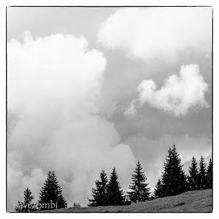 Felhők a Pádis-fennsík felett