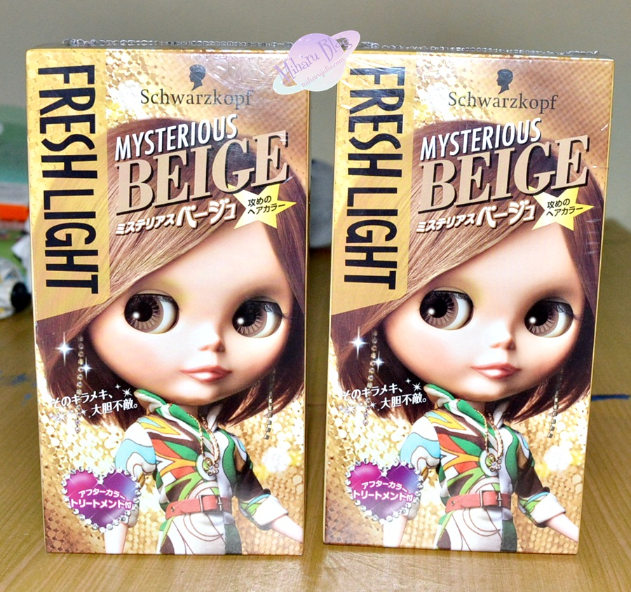 Review Fresh Light Mysterious Beige Hair Color Indonesia