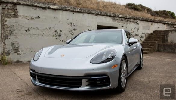 Porsche's Panamera hybrid introduces sports car fun to a estate car