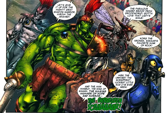 The Warbound, Kelompok Gladiator Hulk di Planet Sakaar