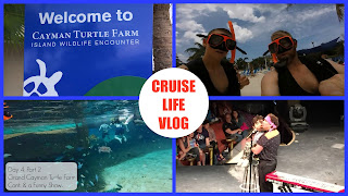 CRUISE LIFE: Carnival Freedom Day 4: Part 2 – Grand Cayman Turtle Farm Cont. & a Funny Show! – March/April 2016