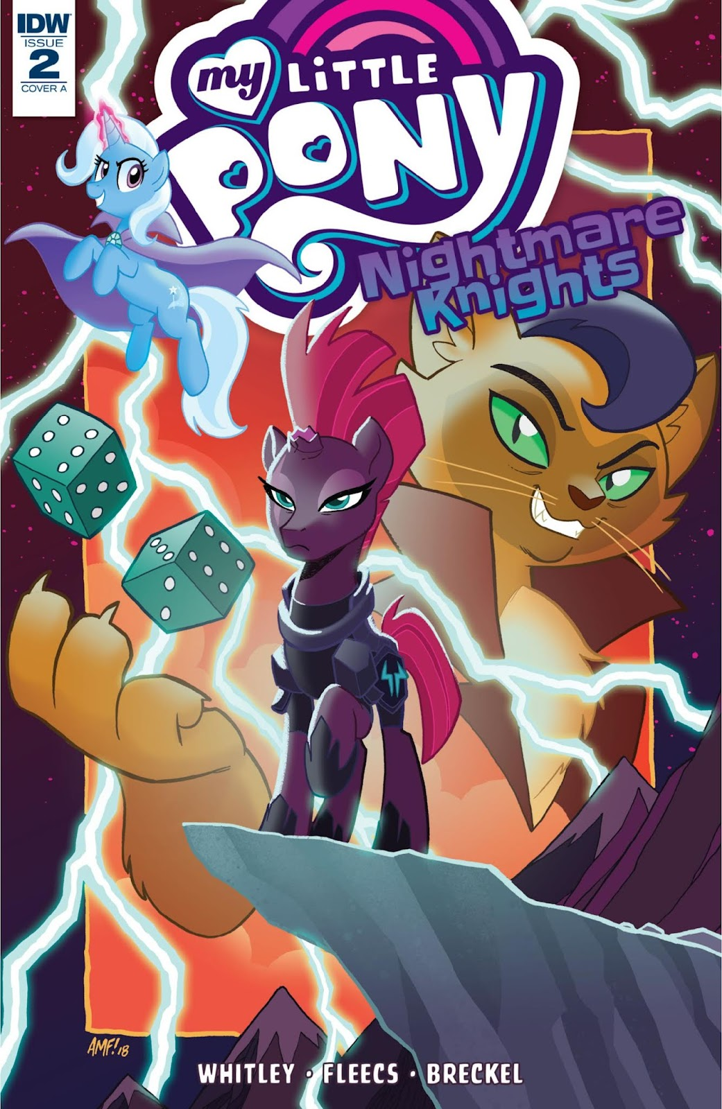 Read online My Little Pony: Nightmare Knights comic -  Issue #2 - 1