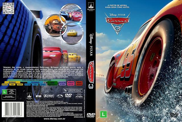 Capa DVD Carros 3 [Exclusiva]