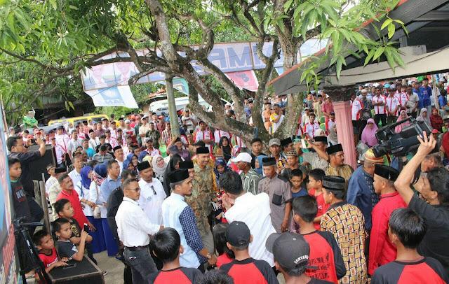 Tak Ingin Kecewakan Warga, PAMMASE Berbagi Kunjungan Hadiri Silaturahmi