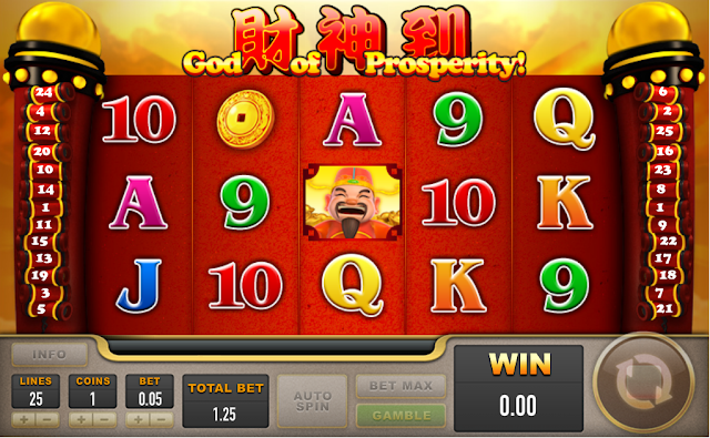 MaxBet Malaysia IBCBet Malaysia Online Slot Game Gods of Prosperity
