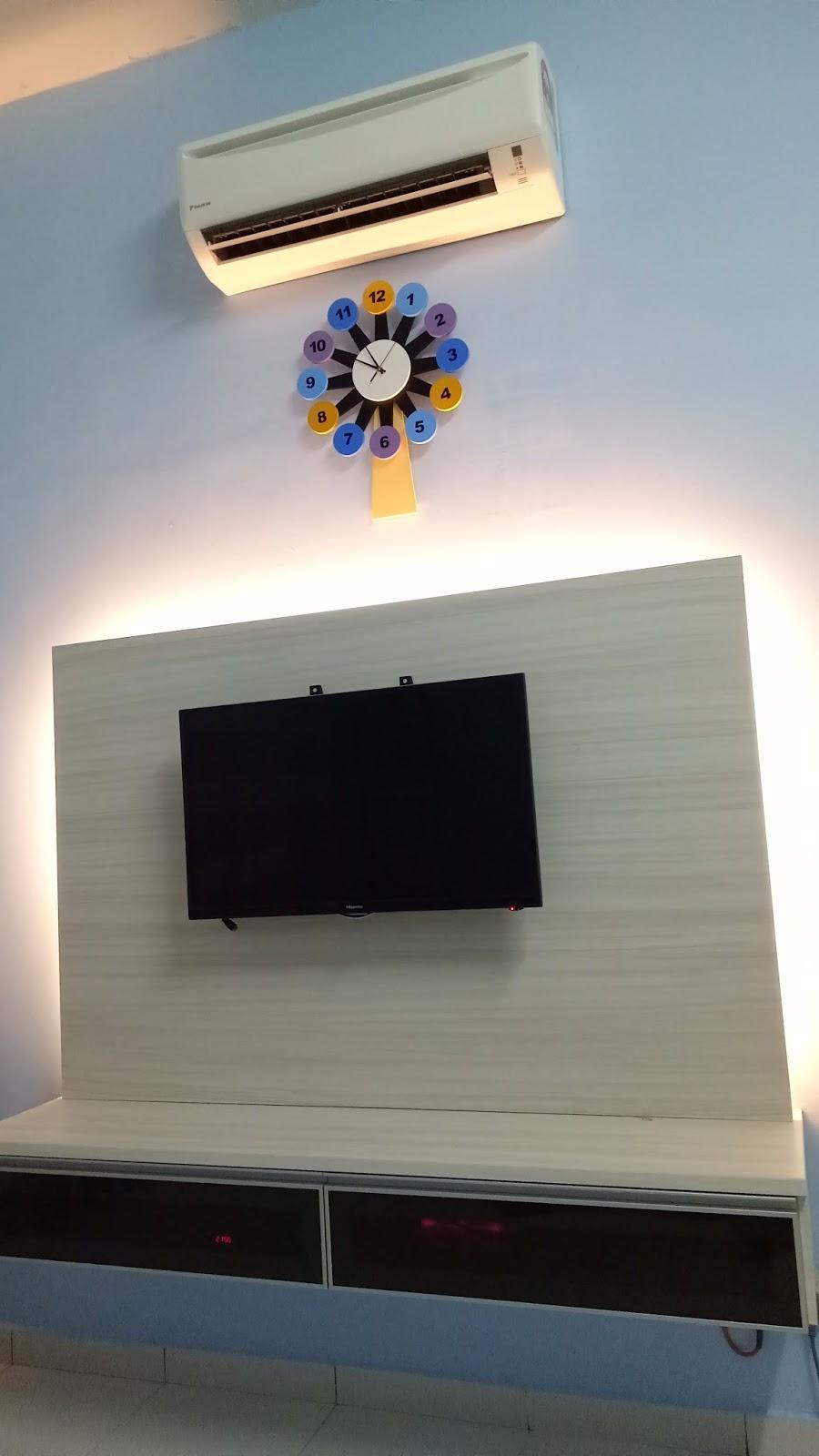 Sekarang Banyak Masa Habis Dengan Duduk Dalam Bilik Lebih Selesa Ada Aircond Tv