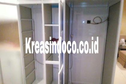 Kitchen Set Aluminium ACP Pemasangan Di H Saaba Joglo Kembangan Jakarta Barat