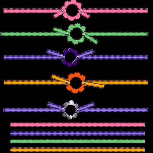 Lazos o Moños de Colores para tu Fiesta de 15 Años.