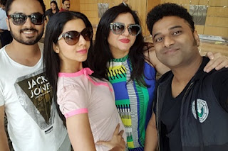 Celebs Arrived Singapore For SIIMA2016 Photos