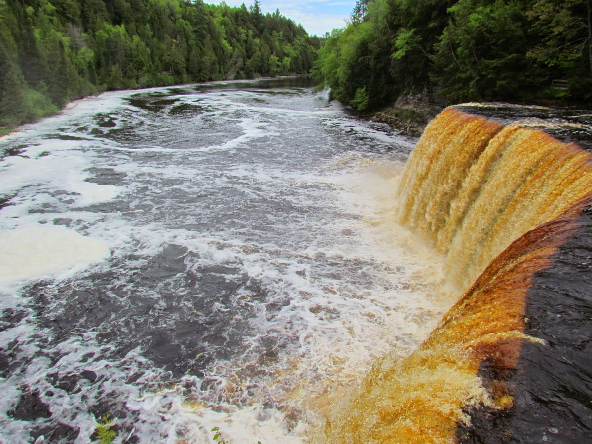 The Agatelady Adventures And Events Tahquamenon Falls