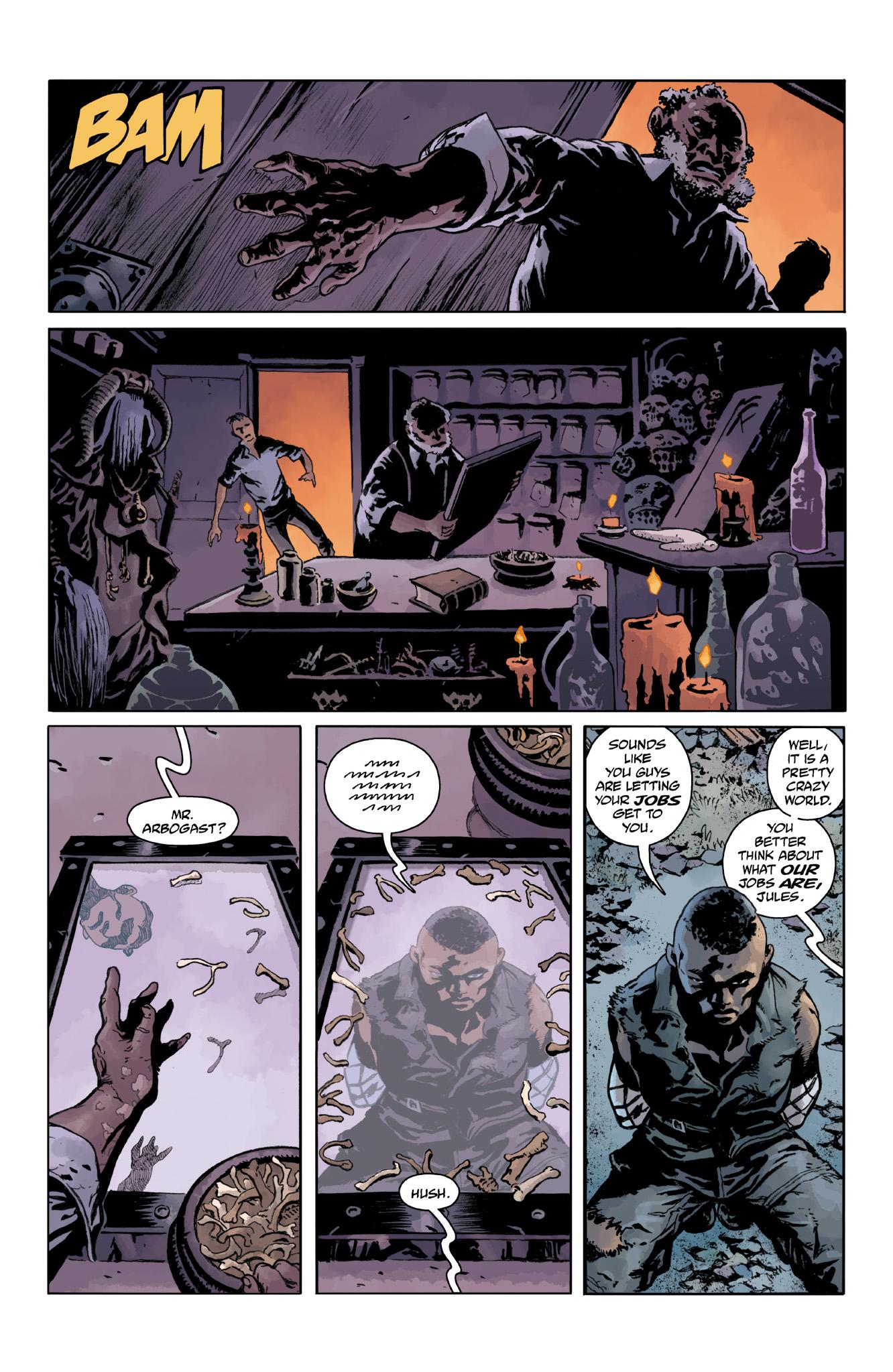 Read online Abe Sapien comic -  Issue #18 - 22