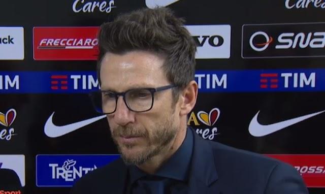 """Di Francesco: """"Problemi psicologici. Tre punti in sei partite ci sta la contestazione"""""""