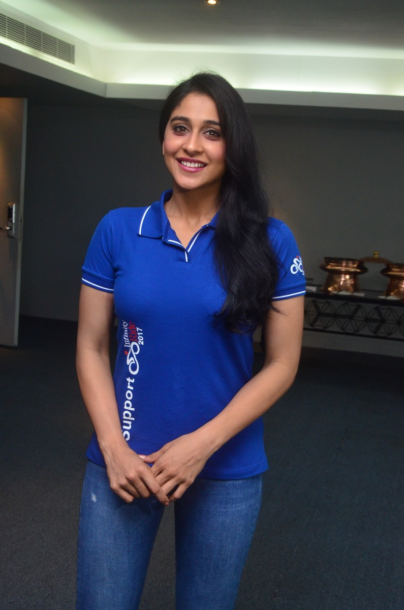 Regina Cassandra at Infinity Ride 2017 Launch Stills