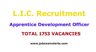 Apprentice Development Officer 1753 Posts