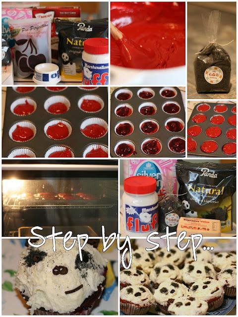 Cake: Panda Cupcakes 2