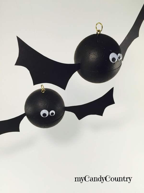 Halloween creativo: pipistrello fai da te