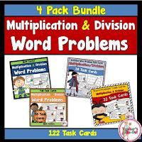 Multiplication and Division Word Problem Bundle