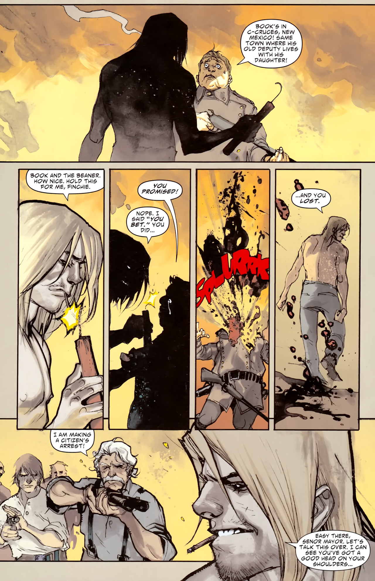 Read online American Vampire comic -  Issue #3 - 30