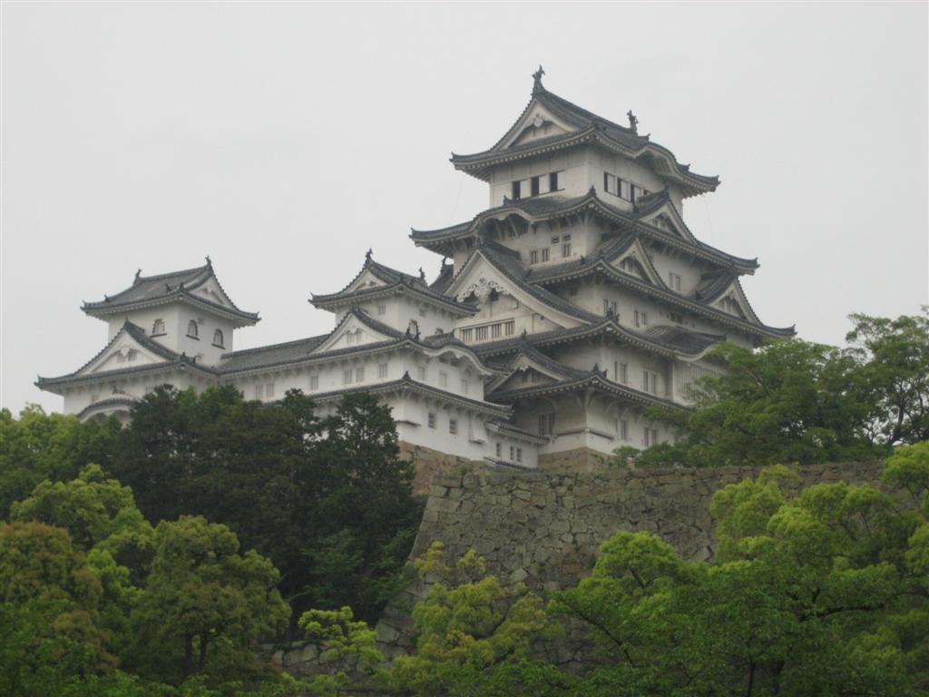 Patrimonio de la Humanidad en Asia y Oceanía. Japón. Castillo de Himeji.