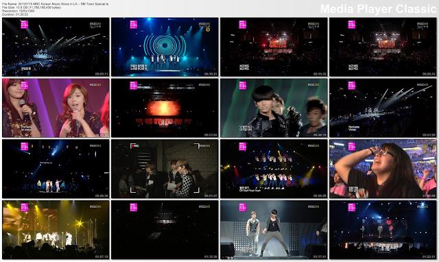 [Show] 120719 MBC Korean Music Wave in LA – SMTOWN Special