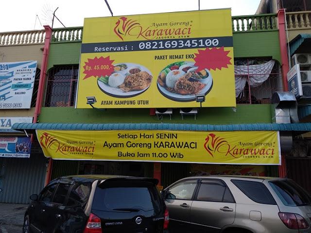 Kuliner Batam Ayam Goreng Kampung Karawaci Enak dan Murah