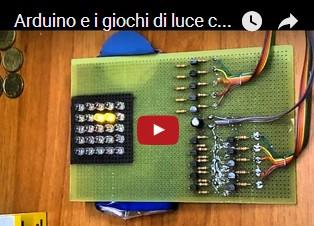 Arduino e i giochi di luce con i led