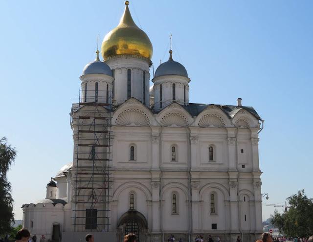 Kremlin - Catedral do Arcanjo S. Miguel