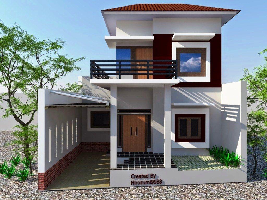 Rumah 2 Lantai Minimalis Sederhana Arsitek Rumahan