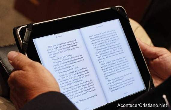 Biblia digital en Tablet