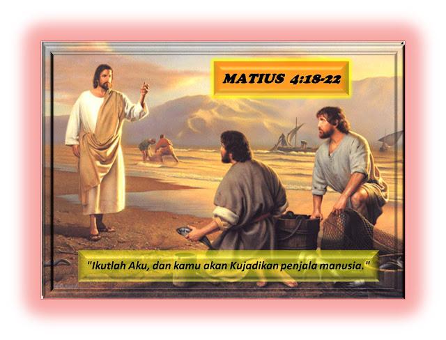MATIUS  4:18-22