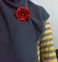 Model Bross rose burn 2
