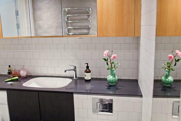 Banheiro do apartamento duplex