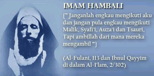 Sejarah Singkat Imam Hambali