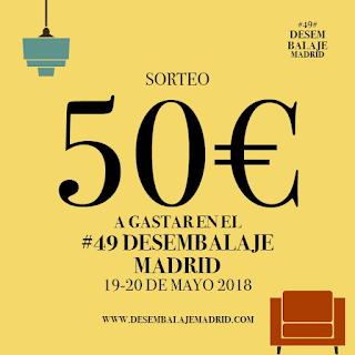 banner sorteo 50€ para el desembalaje de >Madrid