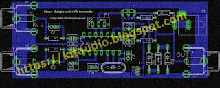 Stereo Multiplexer for FM transmitter parts