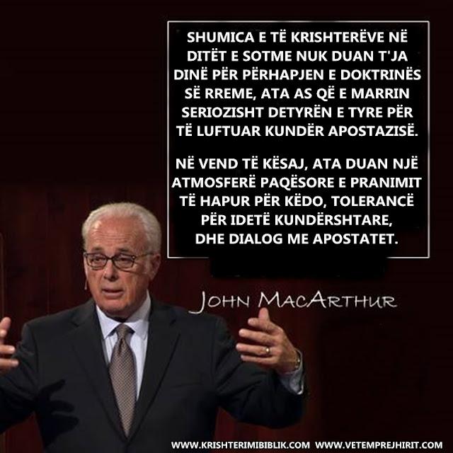 doktrina e rreme, te krishteret, thenie biblike te krishtera, macarthur shqip,