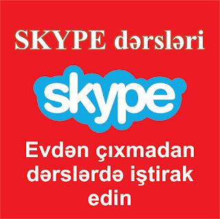 skype dərsləri haqqında məlumat