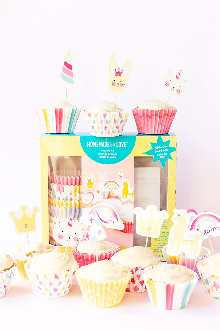 American Crafts | Homemade With Love | Cupcake Kit