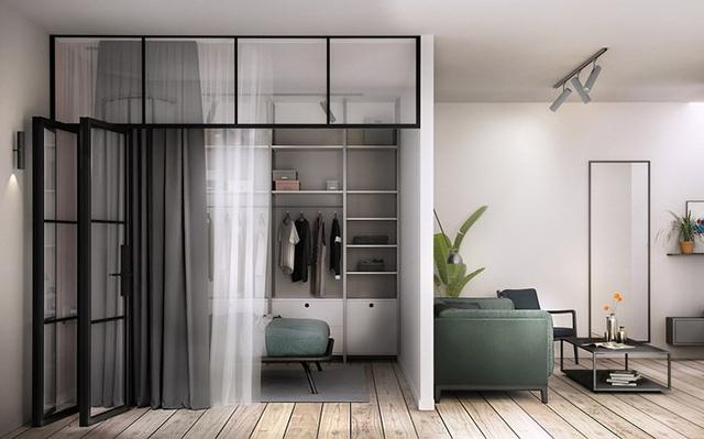 Thiết kế căn hộ 46m2