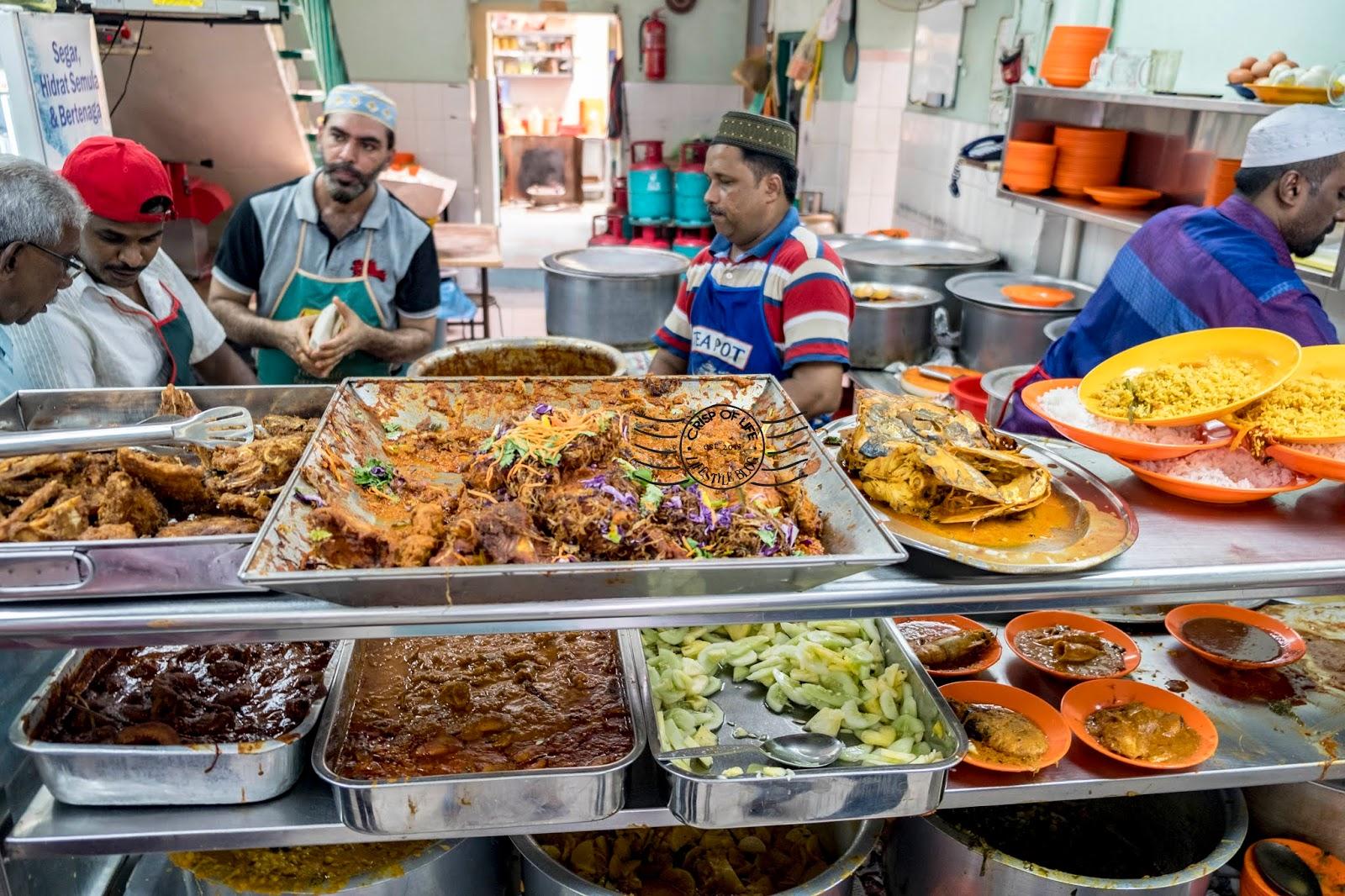 Tajuddin Hussain Restaurant at Queens Street, Georgetown, Penang