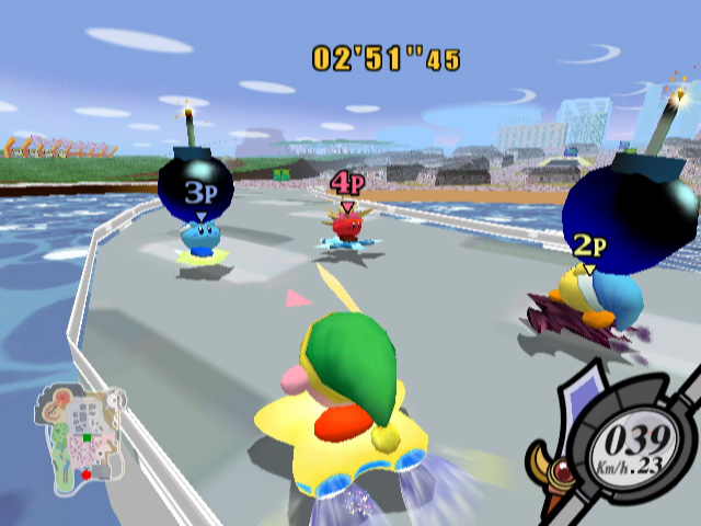 Kirby Air Ride screenshot 2