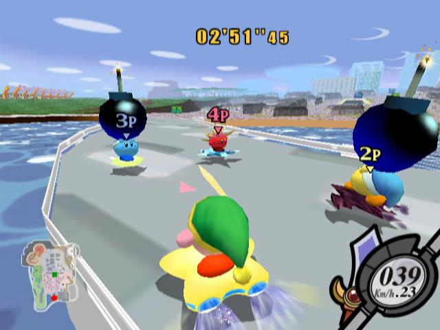 Kirby Air Ride screenshot 2
