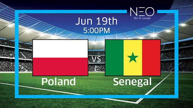 POLAND VS SENEGAL LIVE STREAM 19 JUNE 2018